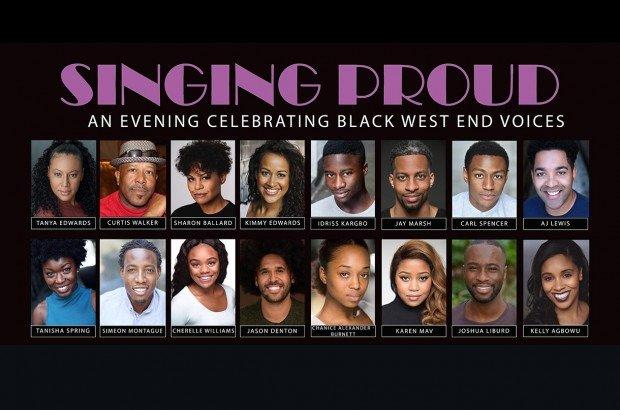 Singing Proud Poster