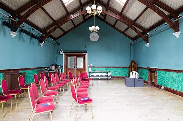 Assembly Room at Stanley Arts