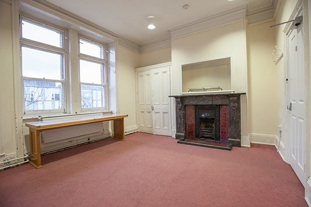One of two main dressing room at Stanley Arts
