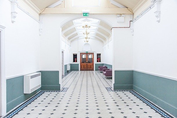 The gallery at Stanley Arts