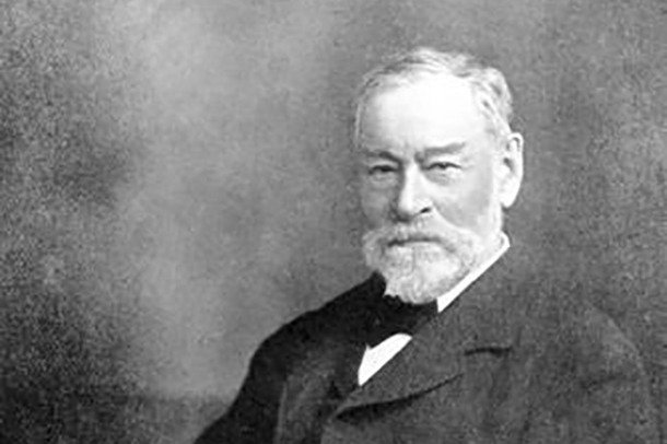 A photograph of William Stanley