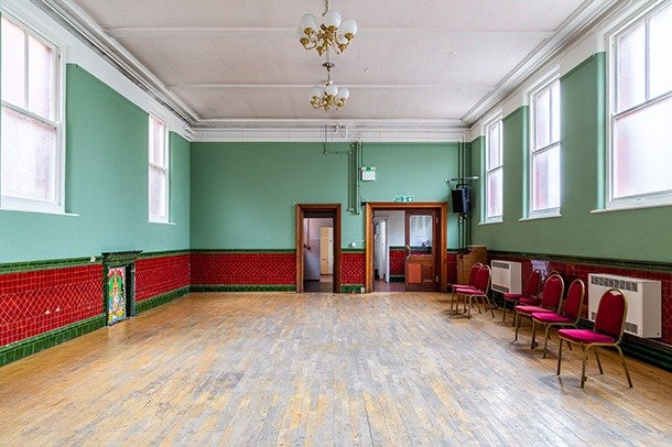 The Society Room at Stanley Arts