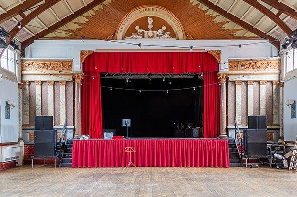 Stanley Hall Stage