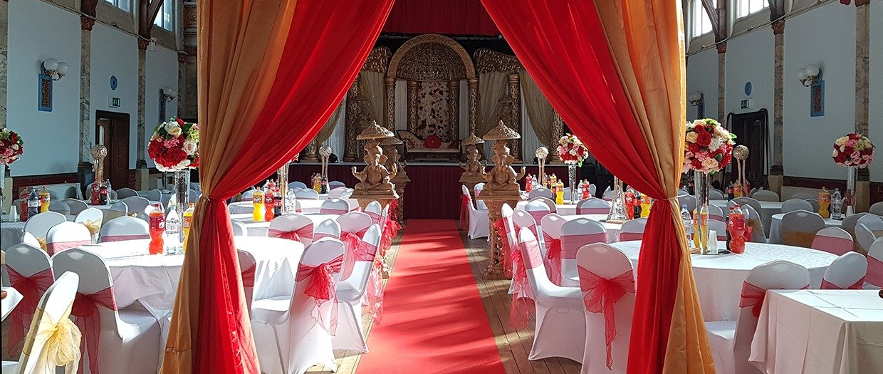 An Indian Wedding in Stanley Hall