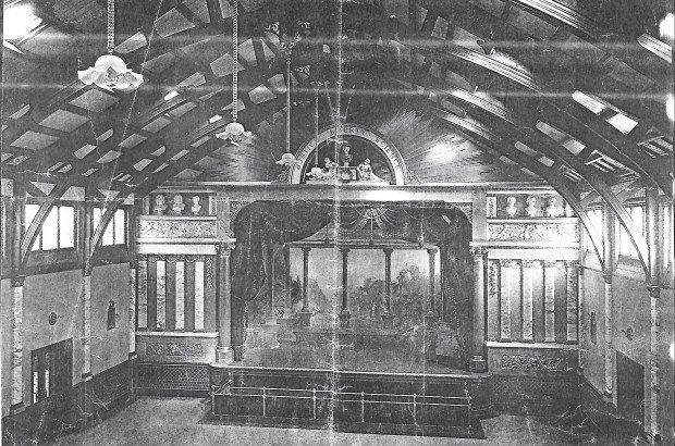 Stanley Hall - Original Interior
