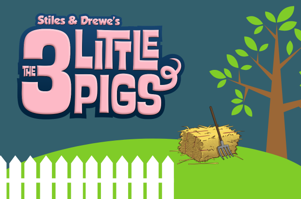 The 3 Little Pigs Poster
