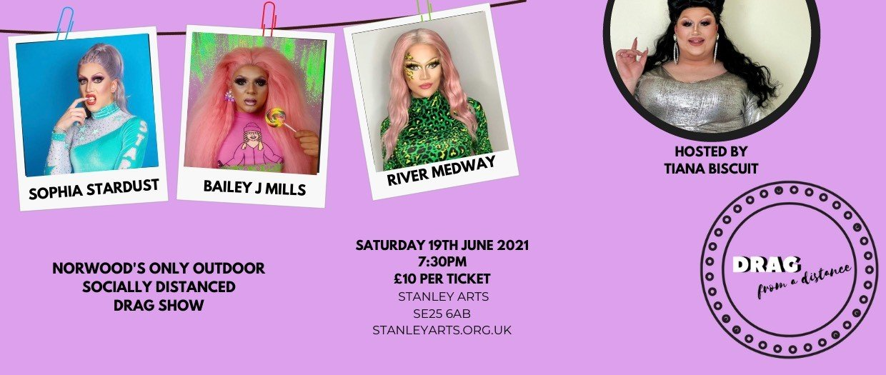 Drag from a Distance June poster